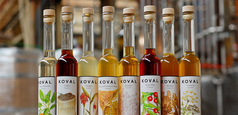 koval distillery liqueurs